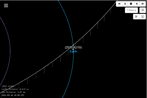 Asteroid the size of the Statue of Liberty due to zoom past Earth this week