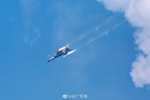 China drops thousands of bombs and missiles in colossal military exercise