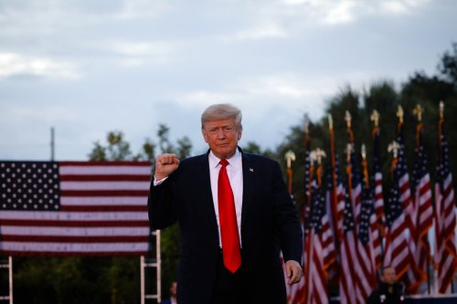 Donald Trump booed at Alabama rally after encouraging crowd to get COVID-19 vaccine