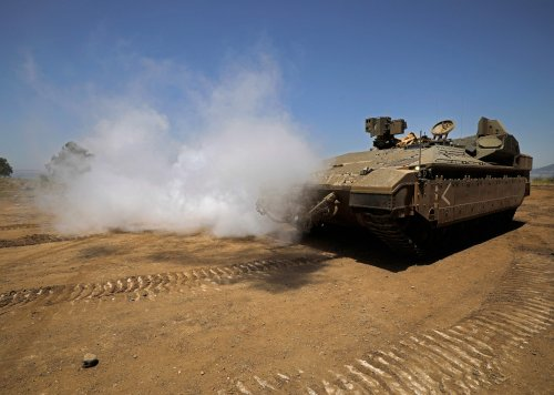 Israel faces rockets from Gaza, Lebanon, Syria as conflict threatens to spread