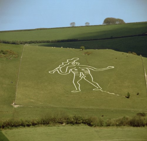 Archeologists solve generations old mystery of Britain's 180-foot-tall chalk figure