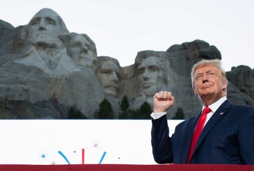 Trump's Mount Rushmore Independence Day celebration cost almost $4 million, report finds