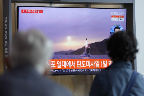 """China says Korea tensions at """"critical stage"""" as North Korea conducts another missile test"""
