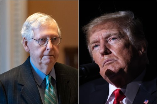 As Donald Trump's 2024 chances increase, Mitch McConnell sounds the alarm