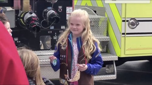 WTMJ: Girl Scout Helps Firefighters By Cleaning Snow Off Hydrants