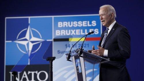 President Biden Meets With NATO Leaders