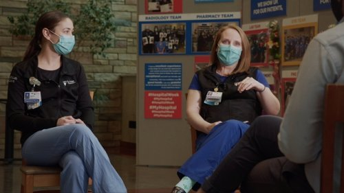 Health Care Workers Say They're Still Struggling With The Pandemic