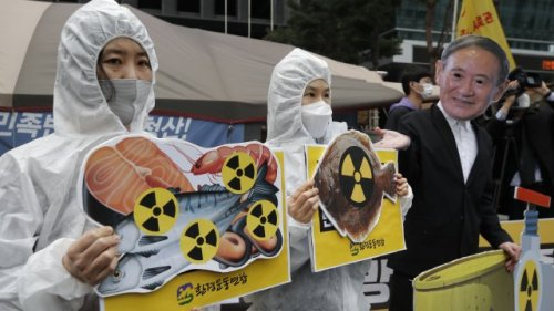 Treated Fukushima Wastewater To Be Released Into Sea
