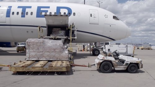 How Cargo-Only Passenger Planes Are Getting Vaccines Beyond U.S.