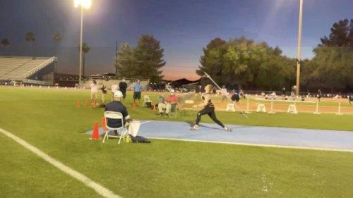KOAA: Olympic Javelin Thrower Trains For Tokyo
