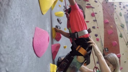 WTMJ: Young Amputees Reach New Heights With Adaptive Rock Climbing