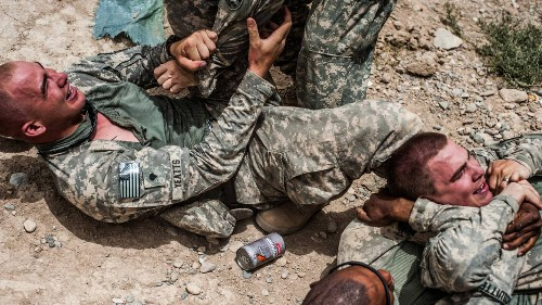 """Relentless Absurdity"": An Army Photographer's Censored Images"