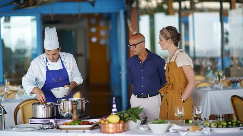 The Timeless Fantasy of Stanley Tucci Eating Italian Food