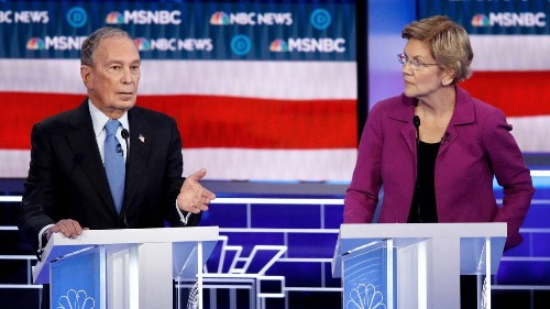 Warren Makes Her Electability Argument by Skewering Bloomberg at the Democratic Debate
