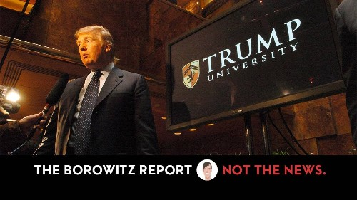Trump to Defend Self After Receiving Law Degree from Trump University