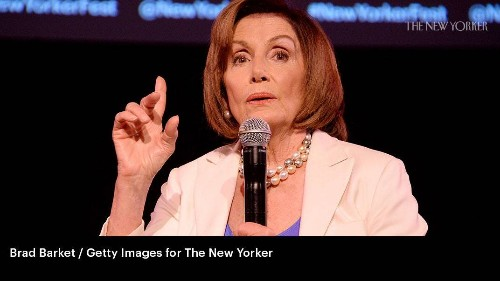 Nancy Pelosi Responds to Trump on Impeachment at The New Yorker Festival
