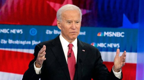 Joe Biden Stumbles Again on Race at the Fifth Democratic Debate