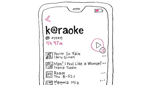 Karaoke Song Selections for the Future