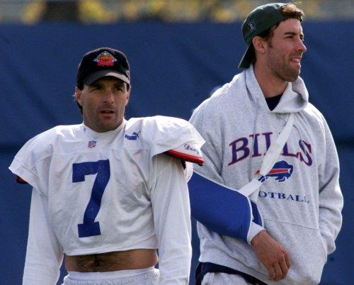 Bills legend Doug Flutie talks who made the call to go Rob Johnson vs Titans, NFL draft QBs, Josh Allen, & more