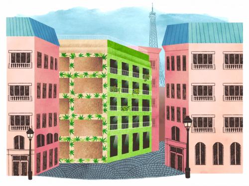 The Secret Ingredient in Paris' Green Public Housing: Hemp