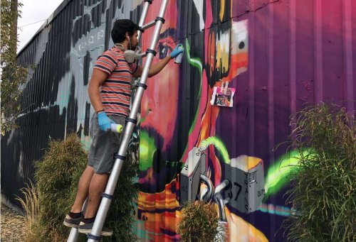 The Artists Working to Keep Garden City, Idaho's Arts District Alive