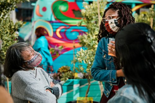Hundreds of Volunteers Turned a San Francisco Parking Lot Into a Healing Garden