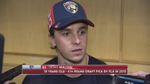 What's the Future for Young Maple Leafs' Winger Denis Malgin?