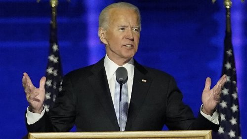 What Song Did Joe Biden Run Out To For His Victory Speech?