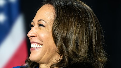 Why This Kiss Between Kamala Harris And Doug Emhoff Is Causing A Stir