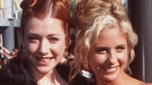 The Truth About Alyson Hannigan And Sarah Michelle Gellar's Relationship On Buffy The Vampire Slayer