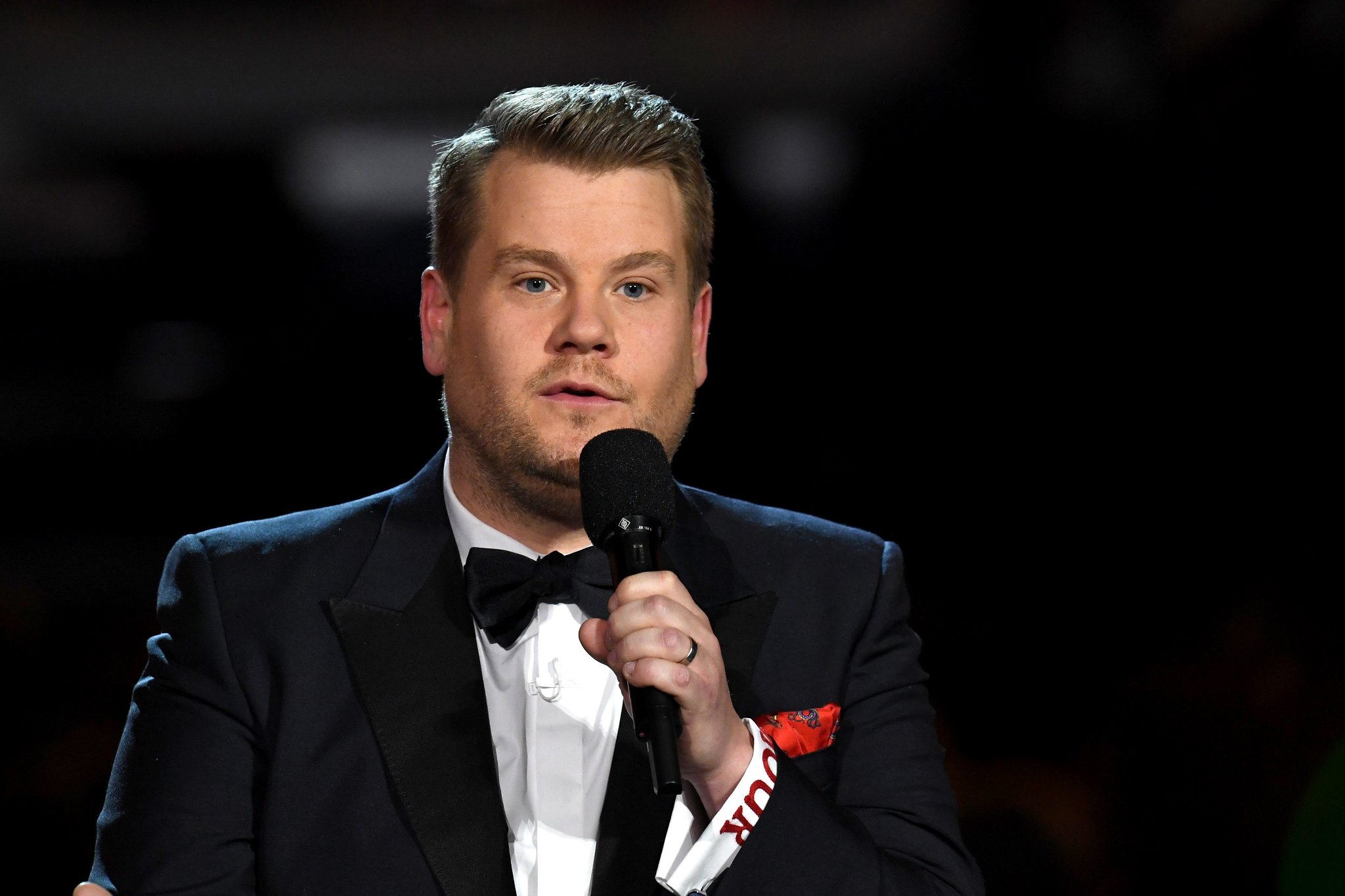 James Corden Remembers Spanking Donald Trump Onstage
