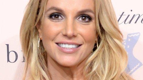 Britney Spears Reveals Her Hidden Tattoo