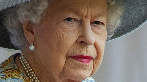 Who Joined Queen Elizabeth At Her Birthday Parade?