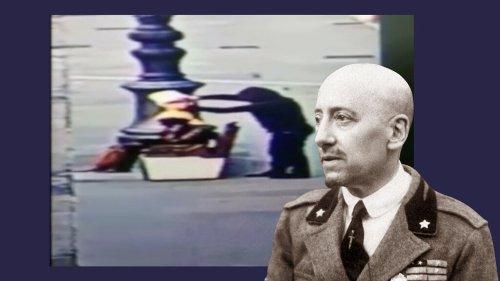 Il video choc dei vandali: imbrattata la statua di D'Annunzio