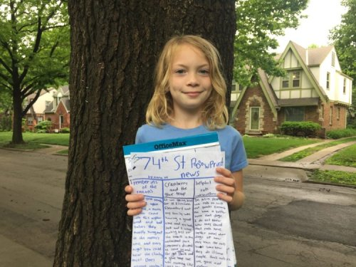 What a journalist mom learns from her daughter's foray into writing the news | Nieman Storyboard