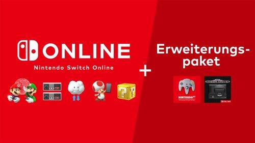 Nintendo Switch Online + Erweiterungspaket: Preis, Umfang & Controller