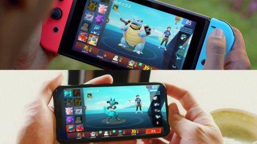 So verlinkst du Pokémon UNITE für Nintendo Switch mit iOS / Android