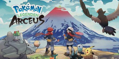 Viele Neuerungen zu Pokémon-Legenden: Arceus enthüllt
