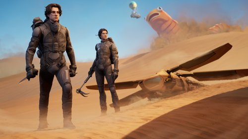 Fortnite – Paul Atreides und Chani von Dune reisen zur Insel