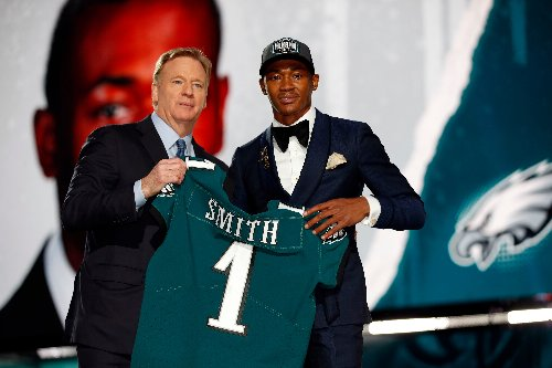 Eagles announce jersey numbers for 2021 NFL Draft class | DeVonta Smith, Kenneth Gainwell, more