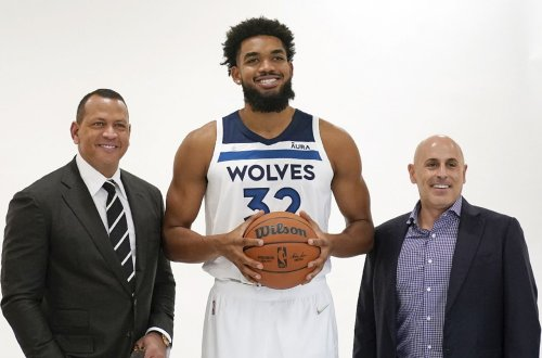 N.J.'s Karl-Anthony Towns doesn't sound happy with ex-Yankees star Alex Rodriguez as Timberwolves owner