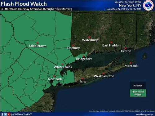 N.J. weather: Flash flood warnings issued in 9 counties as heavy rain pounds region