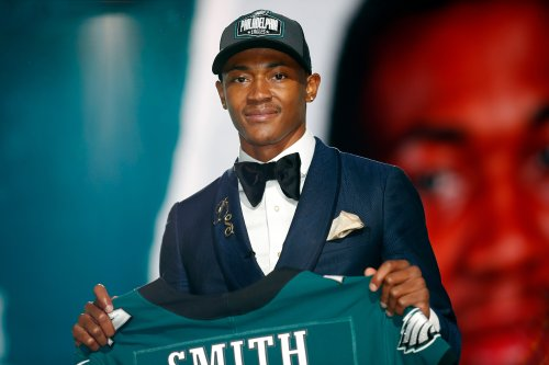 Eagles' DeVonta Smith was convinced he was headed to NFC South or Giants in 2021 NFL Draft