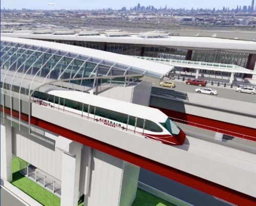 Companies vying to complete $2B replacement of Newark Airport monorail