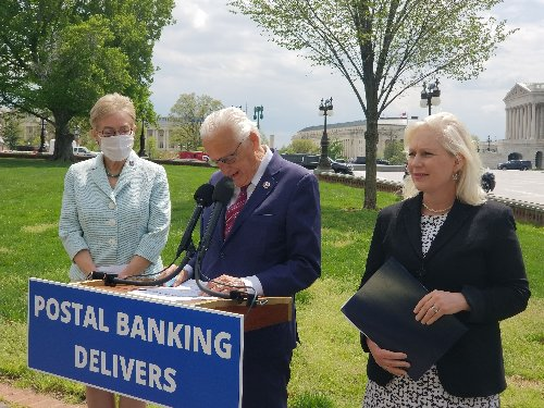 Checking accounts at post offices? N.J. Democrat says it could help poor communities.