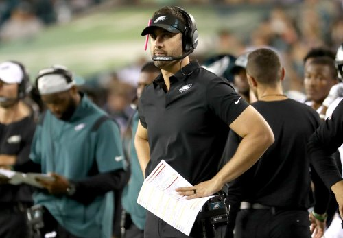 Eagles' Nick Sirianni says his scheme is all about his players   Why that makes defending passing game so difficult