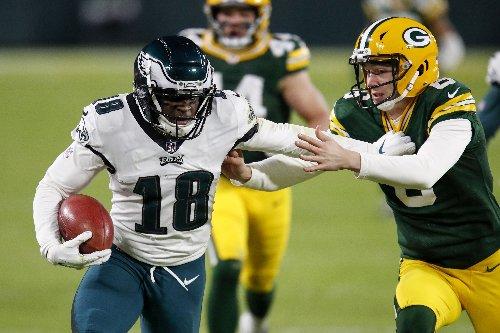 Taking a look at Eagles' options at punt returner, kick returner | Jalen Reagor, Quez Watkins, more
