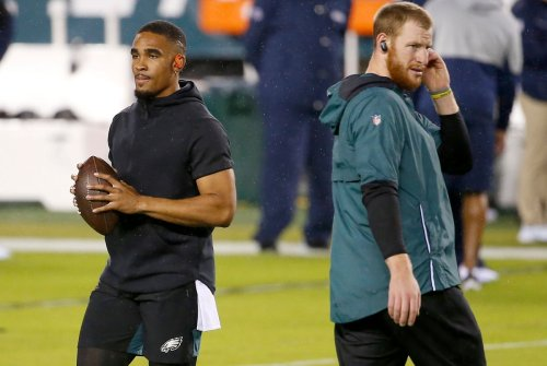 Colts' Carson Wentz responded 'very negatively' to Eagles drafting Jalen Hurts, NFL insider says