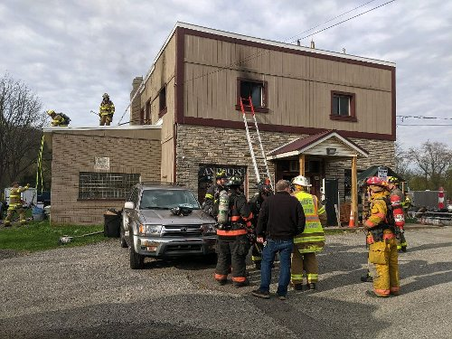 Fire above business in Warren County causes damage, 1 injury