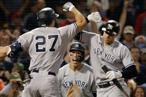 Sweep! Yankees clean up their mess and rally past Red Sox to take top wild-card spot